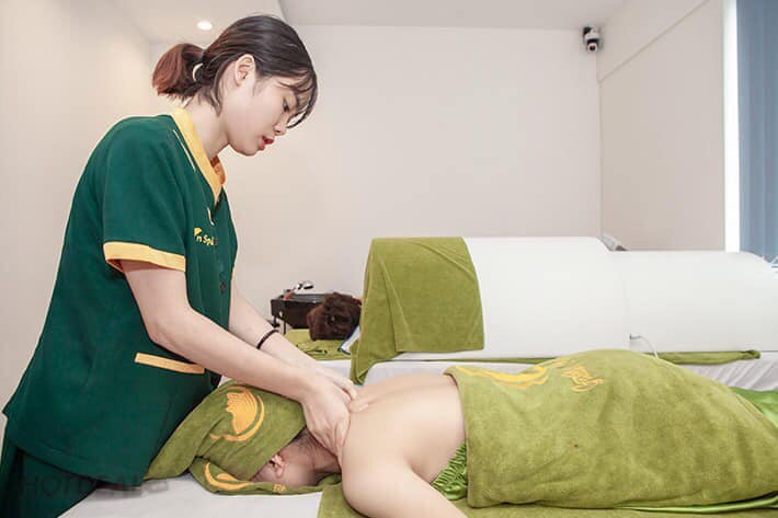 Golden Moon Spa Cổ vai gáy